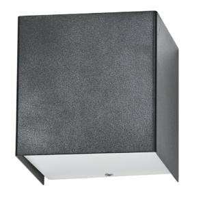 Notranja stenska, CUBE graphite, 1xG9, 50W, IP20, 230V