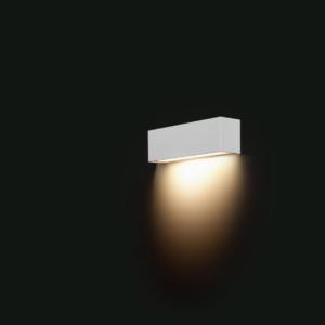 LED Notranja stenska, STRAIGHT LED WALL white XS, 40W, 1xE14, IP20