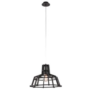 LED Notranja stropna, BIOWAY black, 60W, 1xE27, IP20