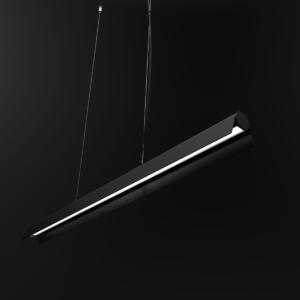 LED Notranja stropna, A LED black, 36W, IP20