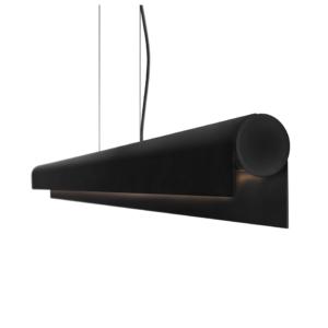 LED Notranja stropna, Q LED black, 36W, IP20