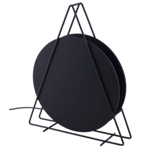 LED Notranja stoječa, WHEEL BLACK, 20W, 1xG9, IP20