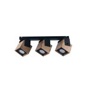 LED Notranja stropna, WEZEN, 35W, 3xGU10;ES111, IP20