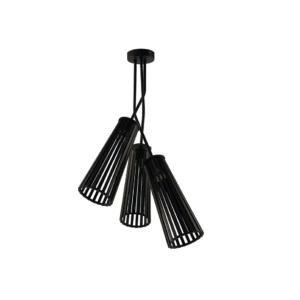 LED Notranja stropna, DOVER black III, 35W, 3xGU10, IP20