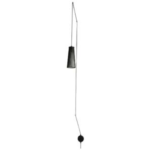 LED Notranja stenska, DOVER black, 35W, 1xGU10, IP20