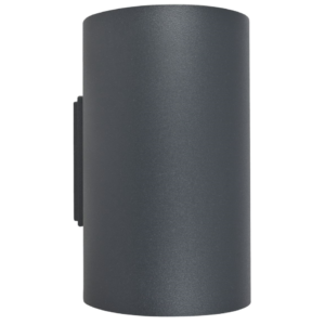 Notranja stenska,TUBE graphite, 2xGU10, 75W, IP20, 230V