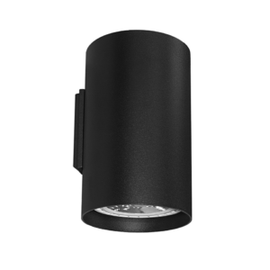 Notranja stenska,TUBE black, 2xGU10, 75W, IP20, 230V