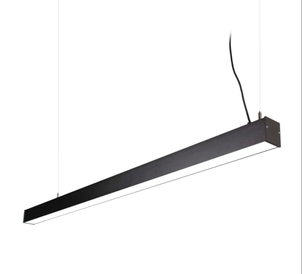 LED Notranja stropna, OFFICE LED zwis graphite, 43W, IP20