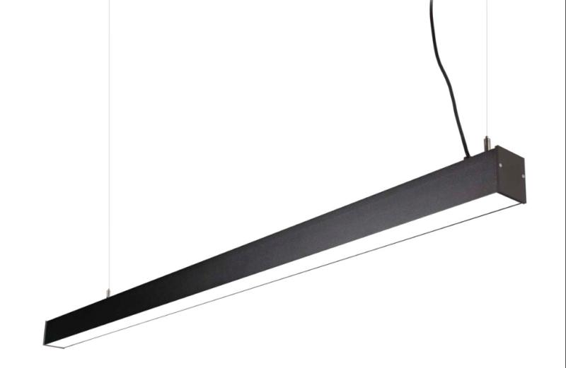 LED Notranja stropna, OFFICE LED zwis graphite, 43W, IP20