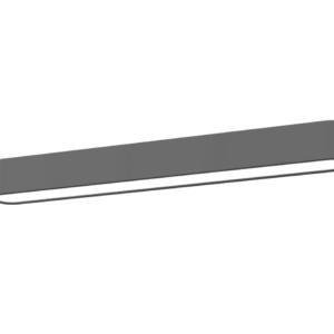 LED Notranja stropna, SOFT LED graphite S, 11W, 1xT8 IP20