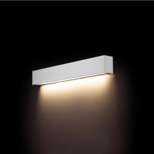 LED Notranja stenska, STRAIGHT LED WALL white S, 10W, 1xT8, IP20