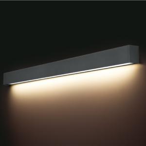 LED Notranja stenska, STRAIGHT LED WALL graphite L, 22W, 1xT8, IP20