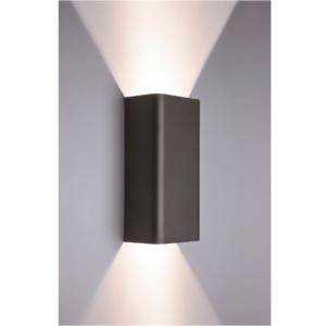 Notranja stenska, BERGEN graphite, 2xGU10, 35W, IP20, 230V