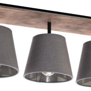 LED Notranja stropna, AWINION gray, 40W, 3xE27, IP20