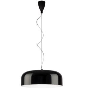 Notranja stropna dekorativna svetilka, Bowl black L, 3xE27, 60W, IP20, 230V