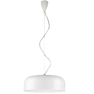 Notranja stropna dekorativna svetilka, Bowl white L, 3xE27, 60W, IP20, 230V