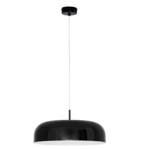 Notranja stropna dekorativna svetilka, Hemisphere black M, 3xE27, 60W, IP20, 230V