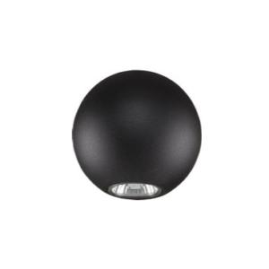 Notranja stropna dekorativna svetilka, Bubble black I, 1xGU10, 35W, IP20, 230V