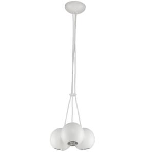 Notranja stropna dekorativna svetilka, Bubble white III, 3xGU10, 35W, IP20, 230V