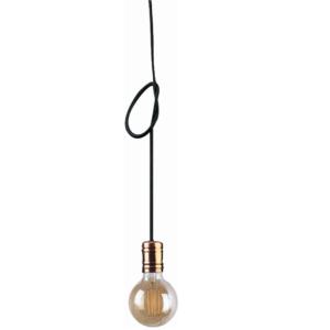 Notranja stropna dekorativna svetilka, Cable copper I, 1xE27, 60W, IP20, 230V