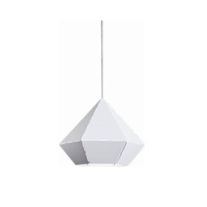 Notranja stropna dekorativna svetilka, Diamond white, 1xE27, 60W, IP20, 230V