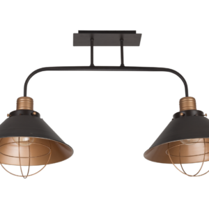 Notranja stropna dekorativna svetilka, Garret II, 1xE27, 60W, IP20, 230V