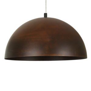 Notranja stenska dekorativna svetilka, Hemisphere rust S, 1xE27, 100W, IP20, 230V