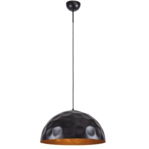 Notranja stropna dekorativna svetilka, Hemisphere hit black-gold, 1xE27, 60W, IP20, 230V