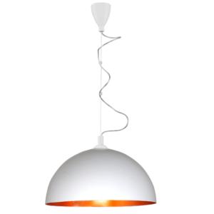 Notranja stropna dekorativna svetilka, Hemisphere white-gold L, 1xE27, 60W, IP20, 230V