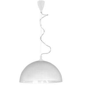 Notranja stropna dekorativna svetilka, Hemisphere white L, 1xE27, 60W, IP20, 230V