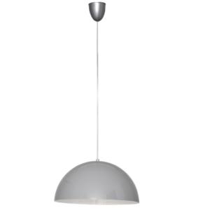 Notranja stropna dekorativna svetilka, Hemisphere grey S, 1xE27, 60W, IP20, 230V