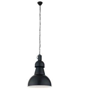 Notranja stropna dekorativna svetilka, High-Bay black I, 1xE27, 60W, IP20, 230V