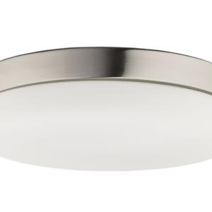 Notranja stropna dekorativna svetilka, Kasai nickel, 2xE27, 40W, IP20, 230V