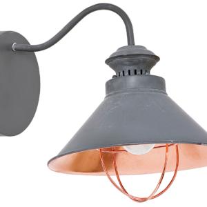 Notranja stenska dekorativna svetilka, Loft taupe I, 1xE27, 60W, IP20, 230V