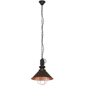 Notranja stropna dekorativna svetilka, Loft chocolate I, 1xE27, 60W, IP20, 230V