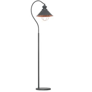 Notranja prostostoječa dekorativna svetilka, Loft taupe I, 1xE27, 60W, IP20, 230V