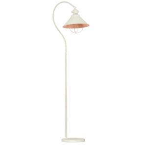 Notranja prostostoječa dekorativna svetilka, Loft white-gold I, 1xE27, 60W, IP20, 230V