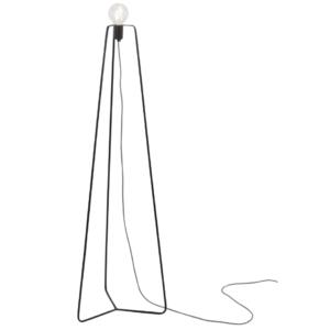 Notranja samostoječa dekorativna svetilka, Simple black I, 1xE27, 60W, IP20, 230V