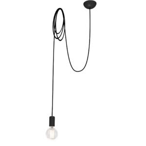 Notranja stropna dekorativna svetilka, Spider black I, 1xE27, 60W, IP20, 230V