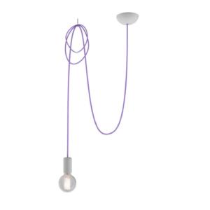 Notranja stropna dekorativna svetilka, Spider violet I, 1xE27, 60W, IP20, 230V