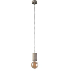 Notranja stropna dekorativna svetilka, Tulum grey I, 1xE27, 60W, IP20, 230V
