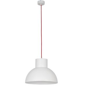Notranja stropna dekorativna svetilka, Works white-red I, 1xE27, 60W, IP20, 230V