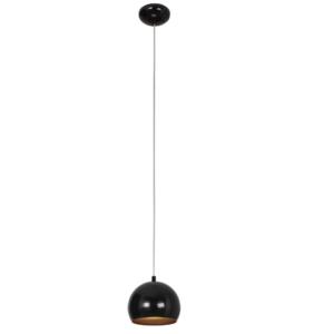 Notranja stropna dekorativna svetilka, Ball black-gold I, 1xGU10, 35W, IP20, 230V