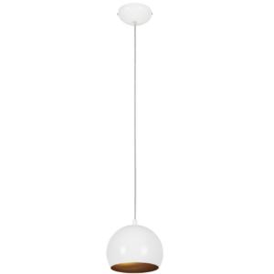 Notranja stropna dekorativna svetilka, Ball white-gold I, 1xGU10, 35W, IP20, 230V