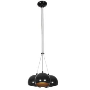 Notranja stropna dekorativna svetilka, Ball black-gold III, 3xGU10, 35W, IP20, 230V
