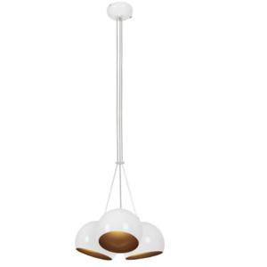 Notranja stropna dekorativna svetilka, Ball white-gold III, 3xGU10, 35W, IP20, 230V