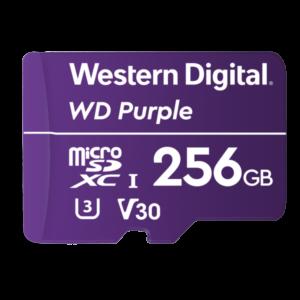 WD 256GB Purple microSD kartica