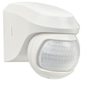 Senzor gibanja, PIR, stenski, Infra Garde 200 Max, nadometni, bel, (R1)