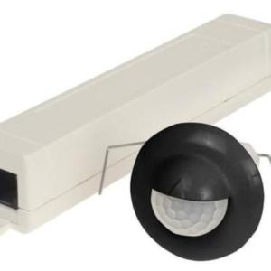Senzor gibanja, PIR, stenski, Swiss Garde 300 Mini-Wall, podometni, črn, (R1)