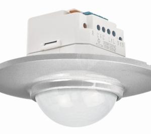 Senzor gibanja, PIR, stropni, Swiss Garde 360 Plus RA, podometni, alu, (R1)